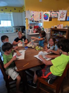 Artists of the Rectangular Table