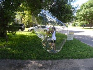 Blowing Giant Bubbles!
