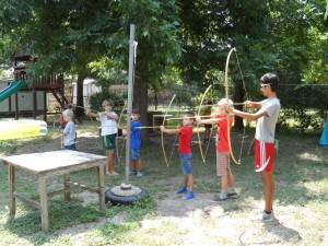 Camp Vamonos' Band of Merry Men
