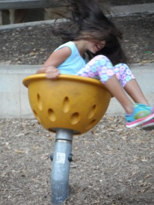 Round & round & round she goes...